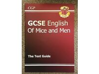 GCSE English Of Mice and Men Text Guide CPG Book