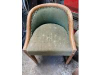 Retro vintage chair upcycle project