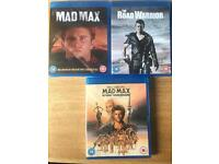 MAD MAX COLLECTION- BLU RAY