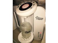 Tommee Tippee machine - Steriliser - excellent condition