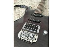 Ibanez SA electric guitar Slim unique fret board
