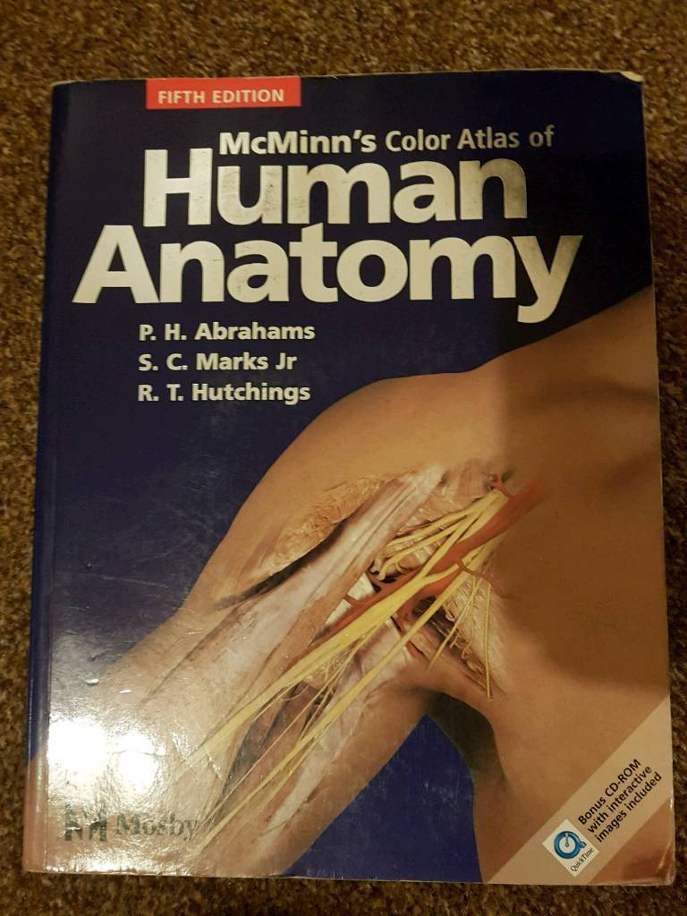 Mcminns Colour Atlas Of Human Anatomy In Fallowfield Manchester