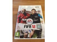 FIFA 12 Wii game