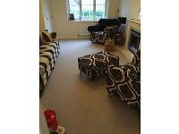 ** Free** Dark cream carpet and underlay in immaculate condition -Free
