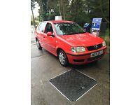 VW Polo 2000 for sale - perfect run around/first car