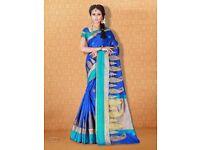 Parampara Digital Printed Party Wear Saree