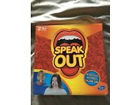 Speak Out - the ridiculous moutpiece challenge game - great at parties