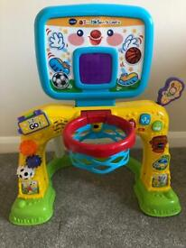 VTech 2 in 1 Sport Centre (baby goal posts)