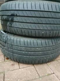 Mitchelin Tyres x2 205/55/17