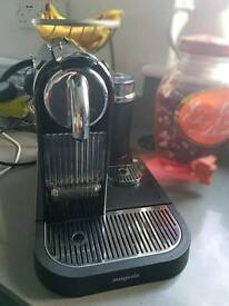 Magimix Nespresso coffee maker and milk frother