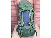 WANTED Karrimor Sabre 60-100 vgc with black crampon patch olive
