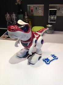 Teksta Robot Dinosaur, excellent condition