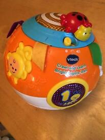 Vtech Crawl and Learn Ball.