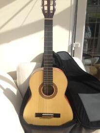 Ortega Full sized acoustic guitar