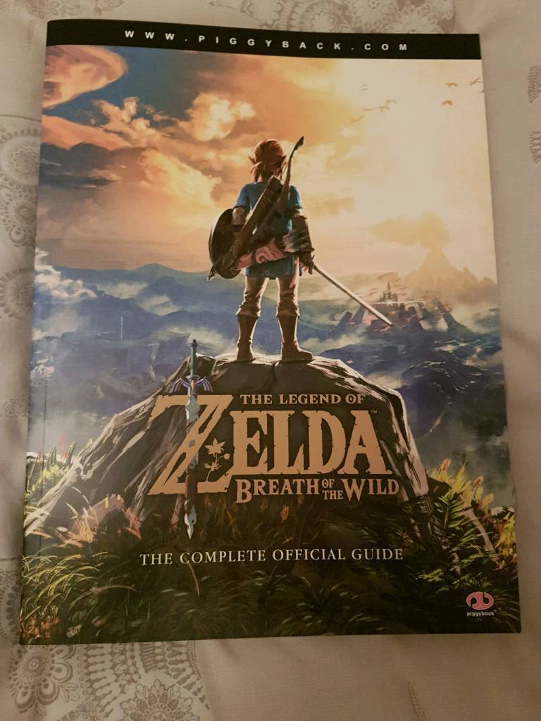 The Legend Of Zelda Breath Of The Wild the official guide