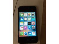 IPHONE 4S /8 GB/ UNLOCKED /Black & White/ VISIT SHOP £65