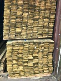 New treated timber heavy duty shed cladding 4.8 metres