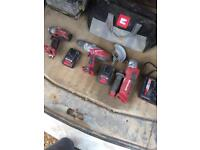 Einhell drill/ impact driver/ electric grinder