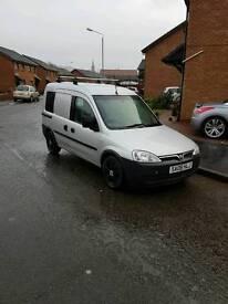 Vauxhall combo 1.3 6 door factory fitted seats