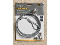 Targus Defcon KL Key Cable Lock