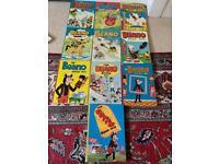 Beano annuals 1970 - 1979