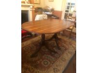 Dining table & chairs- FREE