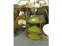 Corner unit with green inlay #26517 £20