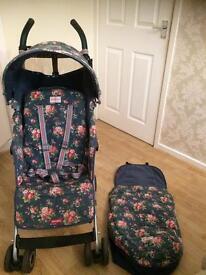Maclaren Cath Kidston spray flowers quest stroller buggy puschair