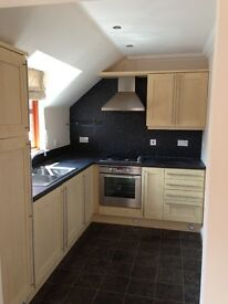 Modern 2 bedroomed, ground floor flat with private parking available to rent