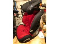 Britax 1-2-3 Evolva Car seat, Mint condition, only used in Grannie's car