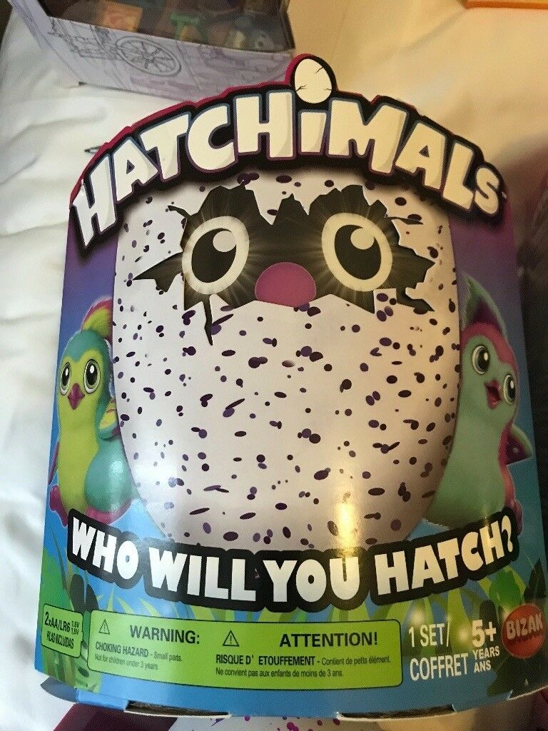 Glitter hatchimal