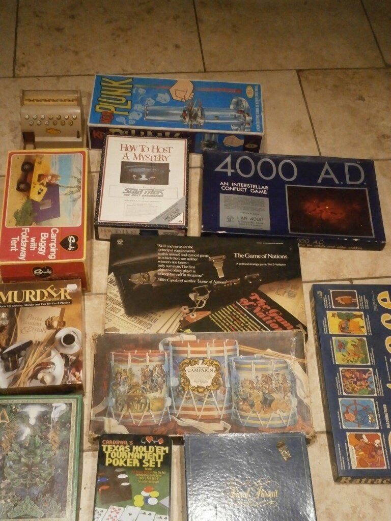 Board games and vintage toys Job Lot Clearance