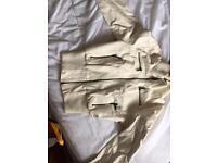 White leather jacket brand new