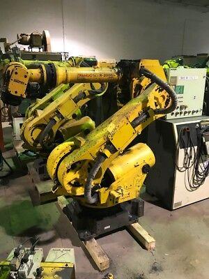 Fanuc R2000 I165f Robot Wrj3i Controller