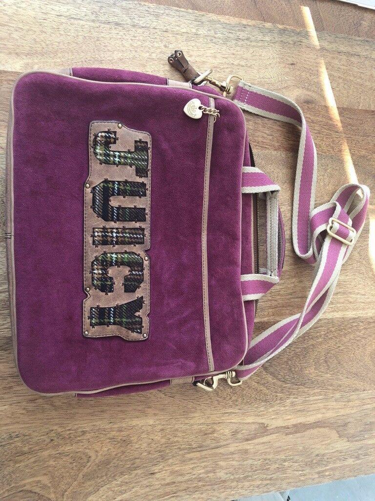 Juicy Couture laptop case bag  48f89dab72b5