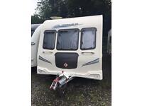 Touring caravan : Bailey Pegasus 646....6 birth fixed bunks twin axle