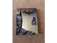 Batman PS3 game in collectors tin
