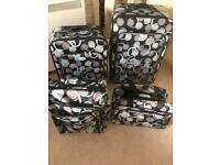 4 piece luggage sst