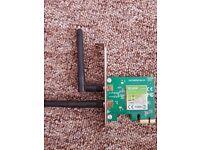 TP LINK PCIE WI-FI CARD.