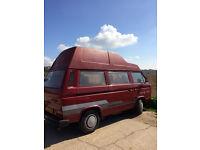 T25 VW Westfalia Club Joker High Top Campervan, 1987, 4-berth 2.1 petrol, new MOT, great condition