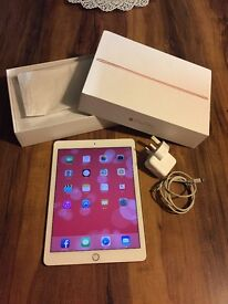 iPad Pro Wi-fi 32gb rose gold 9months apple warranty