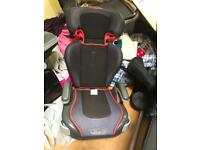 Graco car seat and booster adjustable