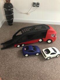 Little tykes car transporter