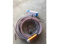 12 Volt submersible pump and 20mm reinforced hose..can drop of locally York/Easingwold