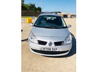 2008 RENAULT SCENIC 1.6 VVT EXPRESSION 5dr.SMOOTH GEAR & COOL AC. VERY GOOD RUNNER. LOW PRICE