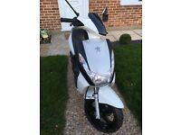 Peugeot Kisbee RN 50cc 2017 low miles cheap Scooter not Gilera runner, speedfight