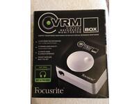 Focusrite virtual reference monitor