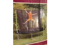 *BRAND NEW IN BOX* Plum 10ft trampoline with enclosure.