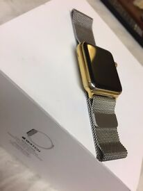 apple watch plated gold