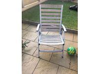 Garden chairs x4